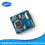 Módulo del explorador del código de barras del CCD del USB de las existencias negras baratas 1d pequeño en exploradores