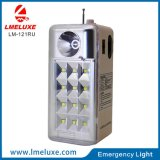 0.5W Sportlight + 12 luz Emergency recarregável do diodo emissor de luz do PCS SMD