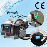 Cosmética de uso Criolipolisis Portable Cool Tech grasa Kryolipolyse congelación de la máquina