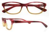 Het met de hand gemaakte Frame van de Oogglazen van de Ontwerper van de Frames van Eyewear van de Acetaat Recentste Optische