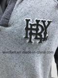Nuovo panno morbido Hoody di svago di stile per gli uomini con la tintura del filato