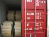 Linha de eletricidade fio de aço folheado da costa do cobre