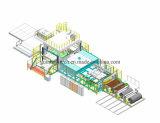 Chaîne de production automatique intérieur de joncteur réseau de voûte de Whell de toit de tapis de véhicule