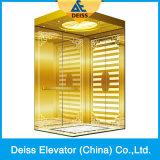 富士の品質の中国Vvvfの牽引のGearless別荘のホーム乗客のエレベーター