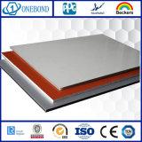 Painéis de parede de alumínio do material composto