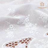 Шнурок 100% хлопка H10014 покрасил ткань для рубашек/платья