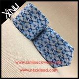 Gravata de pescoço de moda impressa Shengzhou 100% seda para homem
