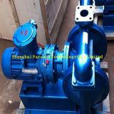 Pompe électrique/pneumatique alliage en plastique/d'aluminium à diaphragme