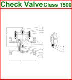 1500lb ha flangiato valvola di ritenuta dell'oscillazione dell'estremità (GAH44H)
