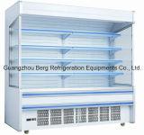 Refrigeradores da cortina de ar com luz do diodo emissor de luz