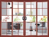 ألومنيوم شرفة [سليد دوور] زجاجيّة