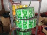 L'étiquette de rétrécissement de PVC d'animal familier pour la bouteille mis en bouteille de boisson peut emballage