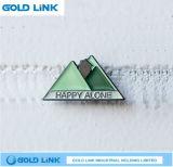 Pin fait sur commande de revers d'insigne en métal de Pin de tissu de cadeau de promotion