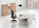 Secretária de gerente curvo de escritório de design comercial novo moderno (HF-BSA01)