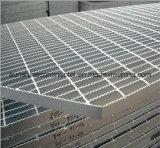 De hete Ondergedompelde Gegalvaniseerde Vloer van het Traliewerk van het Metaal van de Staaf van het Platform van de Vloer