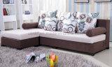 Sofá moderno de madera de la tela del hogar del sofá de la sala de estar (HX-SL025)
