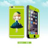 Vidrio Tempered de la historieta protector de la pantalla de ambas caras para el más de iPhone6/6s en existencias