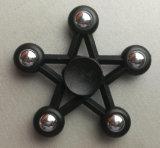 Modèle anti-stress d'étoile du fileur cinq de main de fileur de doigt