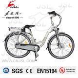 E-Велосипед города мотора рамки 250W сплава Al 700c безщеточный (JSL036B-6)