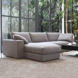 Form-japanische Art-Wohnzimmer-Möbel-modernes Gewebe-Sofa