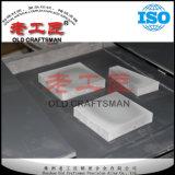 Unbelegte Schweißens-Platten-hartes Metall mit verschiedenen Formen auf halb maschinell bearbeiten