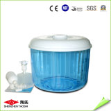Réservoir direct de canalisation de vente de minerai en plastique chaud de la bouteille 8L