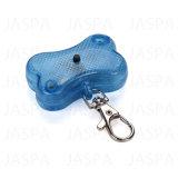 Heißer Verkaufs-Miniknochen-Form-Haustier Keychain Licht