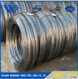 高品質はばねの鋼線の高炭素材料に電流を通す