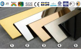 Ouro Mirro terminado tornando o painel composto de alumínio (GMF 022)