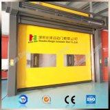 La puerta interior con la cortina del PVC de alta velocidad rueda para arriba (Hz-HS5583)