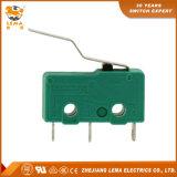 Commutateur subminiature de micro de dispositif d'entraînement de levier déplié par Kw12-4