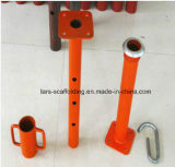 Accessoires d'échafaudage réglables en métal