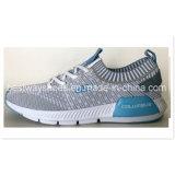 Le modèle neuf Flyknit de chenal de marée chausse les chaussures occasionnelles de Slip-on pour les hommes