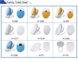 Asiento de inodoro plástico Abd Cover Slow Closed Low Cost