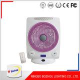 14 pulgadas ventilador derecho del ventilador recargable de CA y de la C.C.