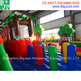 Giant Inflatable Fun City for Kids, jungle gonflable Jumper