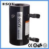 Double cylindre hydraulique en aluminium temporaire