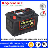 Buena batería auto sin necesidad de mantenimiento del funcionamiento que comienza 12V 60ah