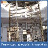 Écran de coupe décoratif décoratif en acier inoxydable Customzied pour intérieur / extérieur