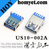 Connecteur USB haute qualité 3.0 Connecteur femelle USB à angle droit