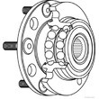 닛산 Qashqai를 위한 차륜 방위 장비는, Vkba6996 40202-Jg000를 X 끈다