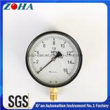 Calibrador de presión comercial a prueba de polvo del OEM con el grado IP54 de la protección