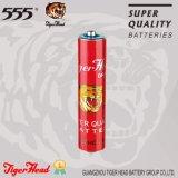 Батарея куртки бумаги размера тигра головная R03 AAA с супер качеством