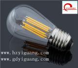 Luz nova do filamento do diodo emissor de luz do vintage do projeto de St64/St45 2W 4W 6W 8W