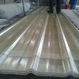 La toiture élevée de la lumière FRP lambrisse la feuille/panneau/panneau/tuile de lucarne de FRP pour la serre chaude