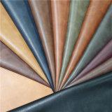 Couro de imitação amigável do plutônio do material de matérias têxteis de Environmetal para acessórios dos sacos