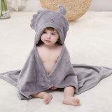 Abrigo encapuchado de la toalla del bebé del baño del regalo elegante del tiempo