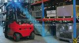 最も新しいフォークリフトの矢のビーム倉庫のための青い安全燈