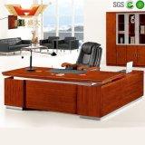 オフィス用家具のプロジェクト(HY-D5124)のためのL形のコンピュータのオフィスの管理表