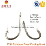 Gancho de pesca do aço 7731 inoxidável
